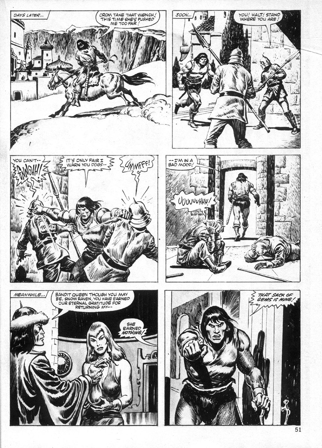 The Savage Sword Of Conan Issue #95 #96 - English 51