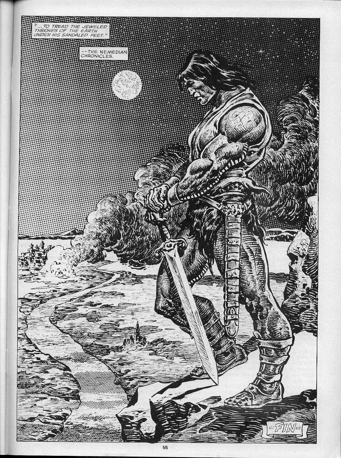 The Savage Sword Of Conan Issue #200 #201 - English 57