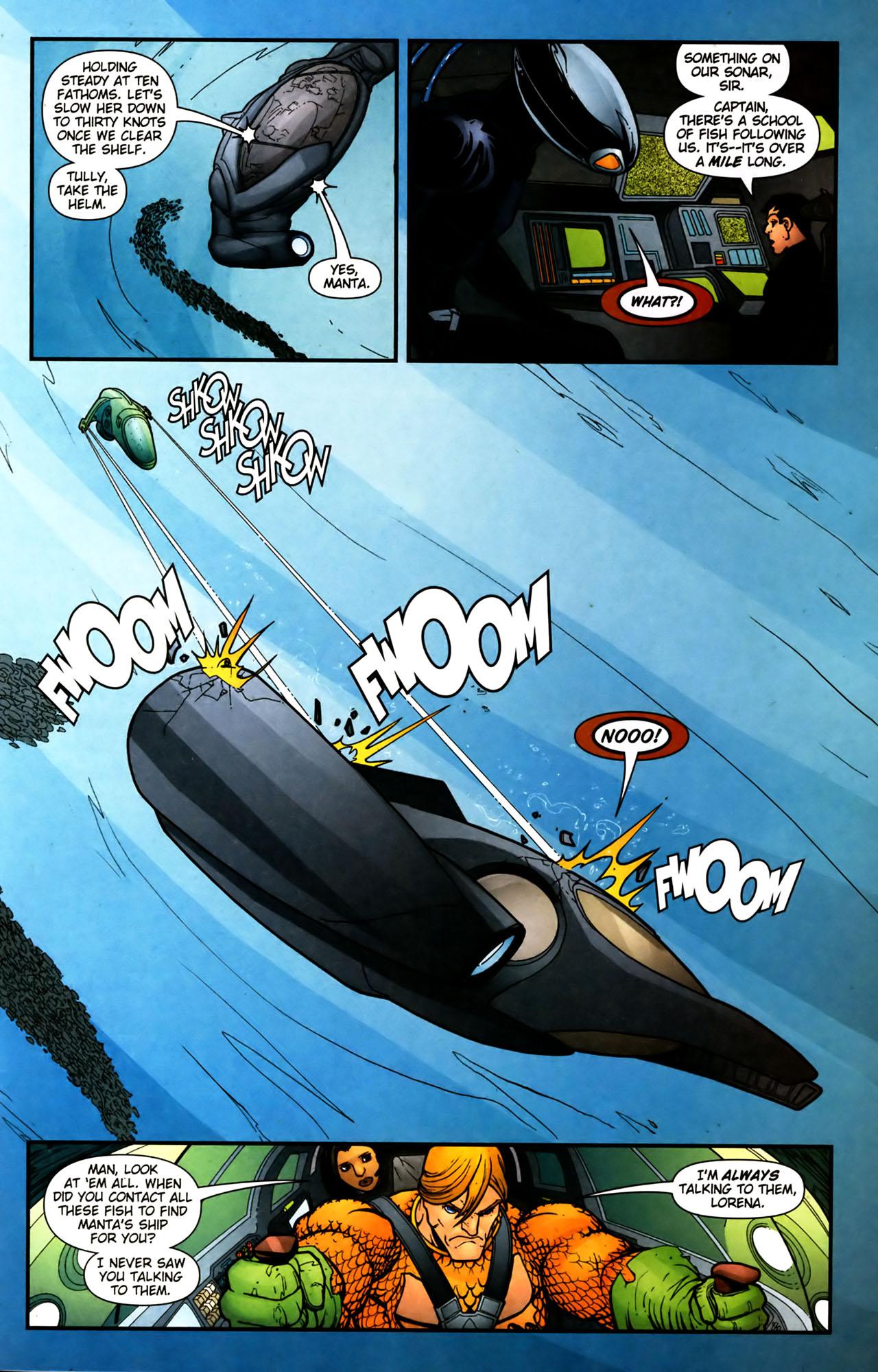 Read online Aquaman (2003) comic -  Issue #39 - 15