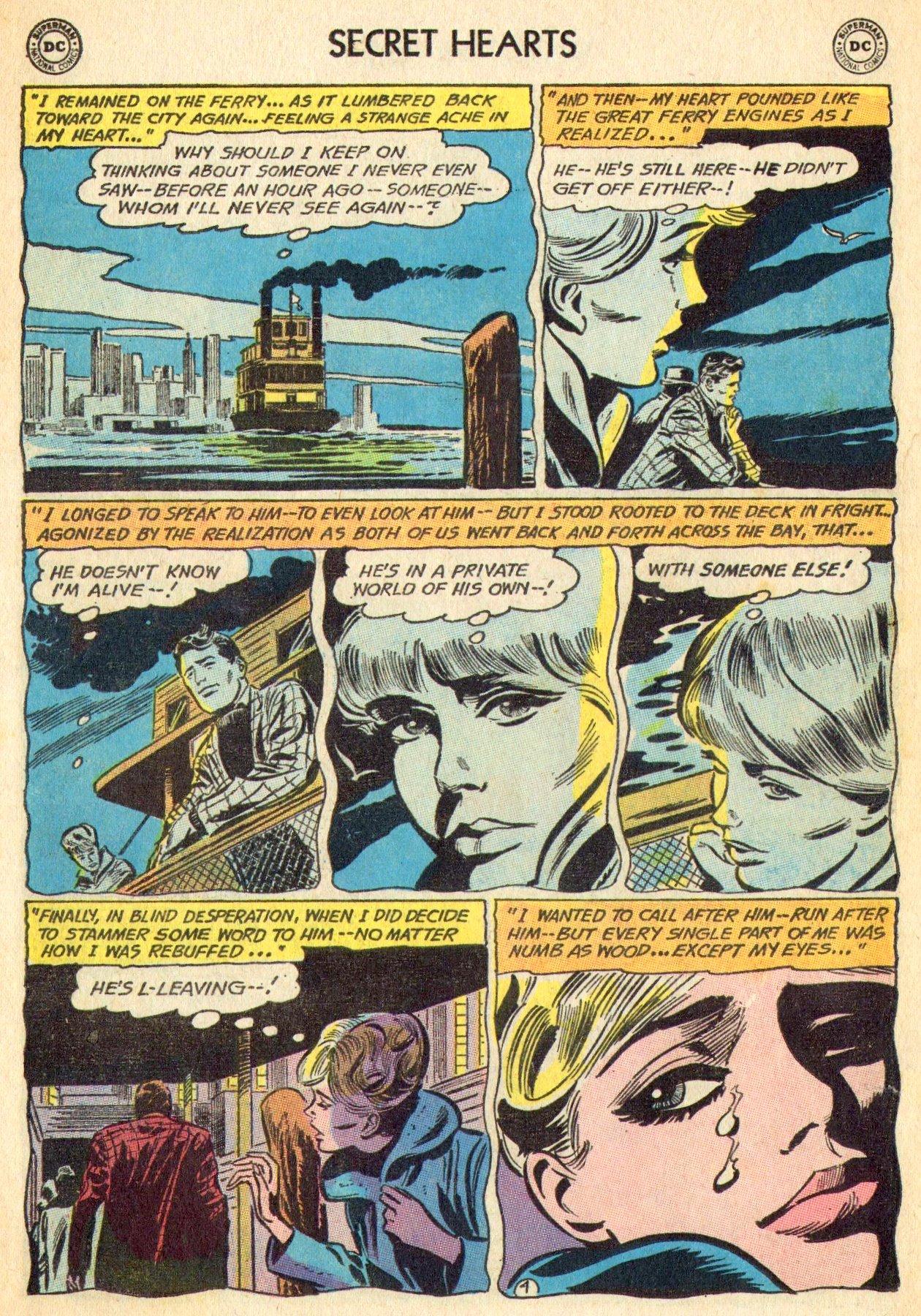 Read online Secret Hearts comic -  Issue #101 - 22