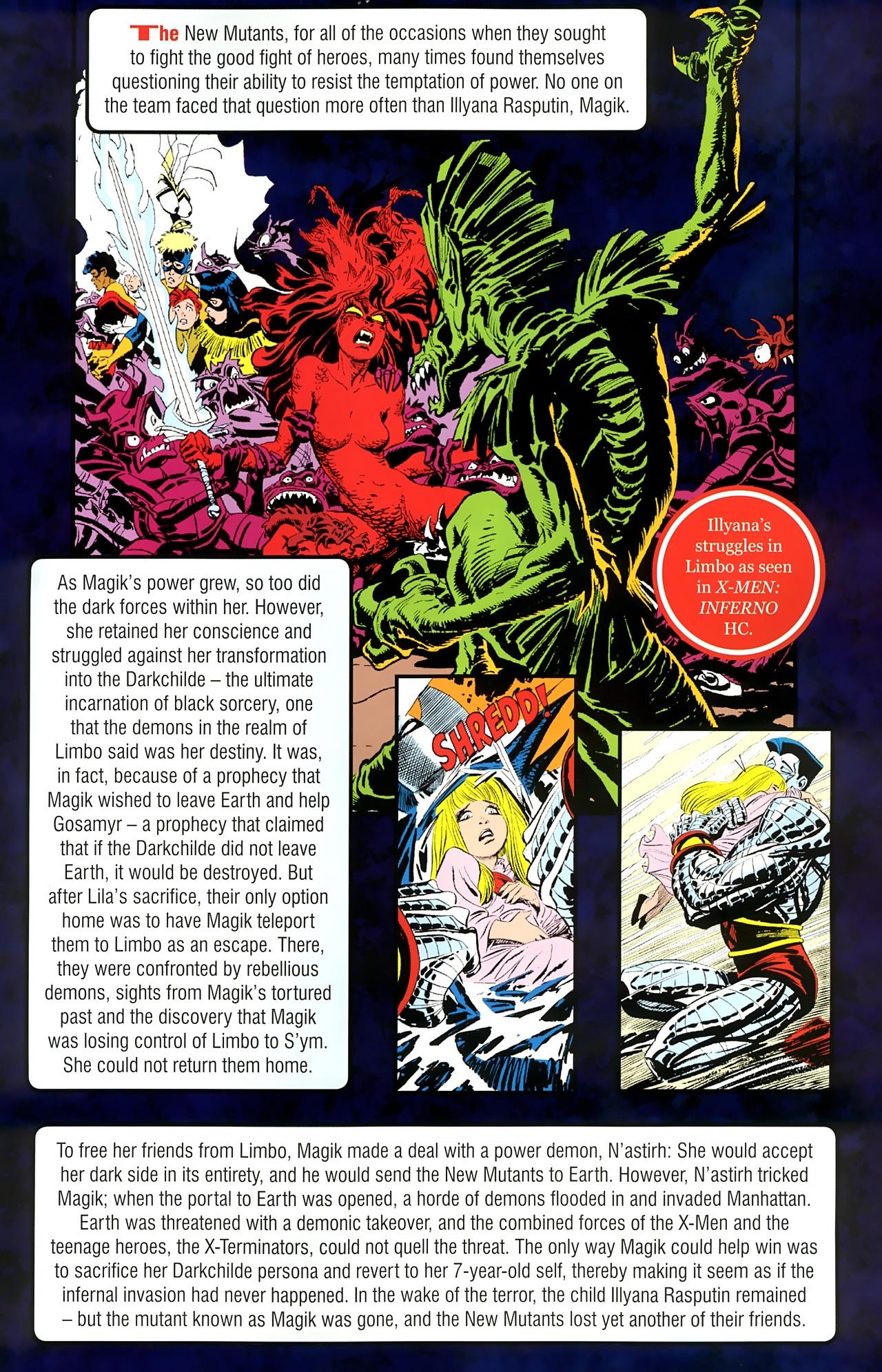Read online New Mutants Saga comic -  Issue # Full - 29