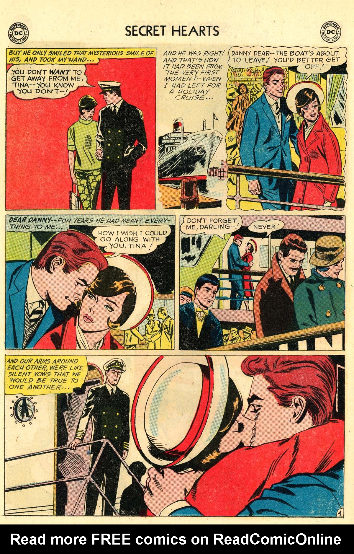 Read online Secret Hearts comic -  Issue #106 - 22