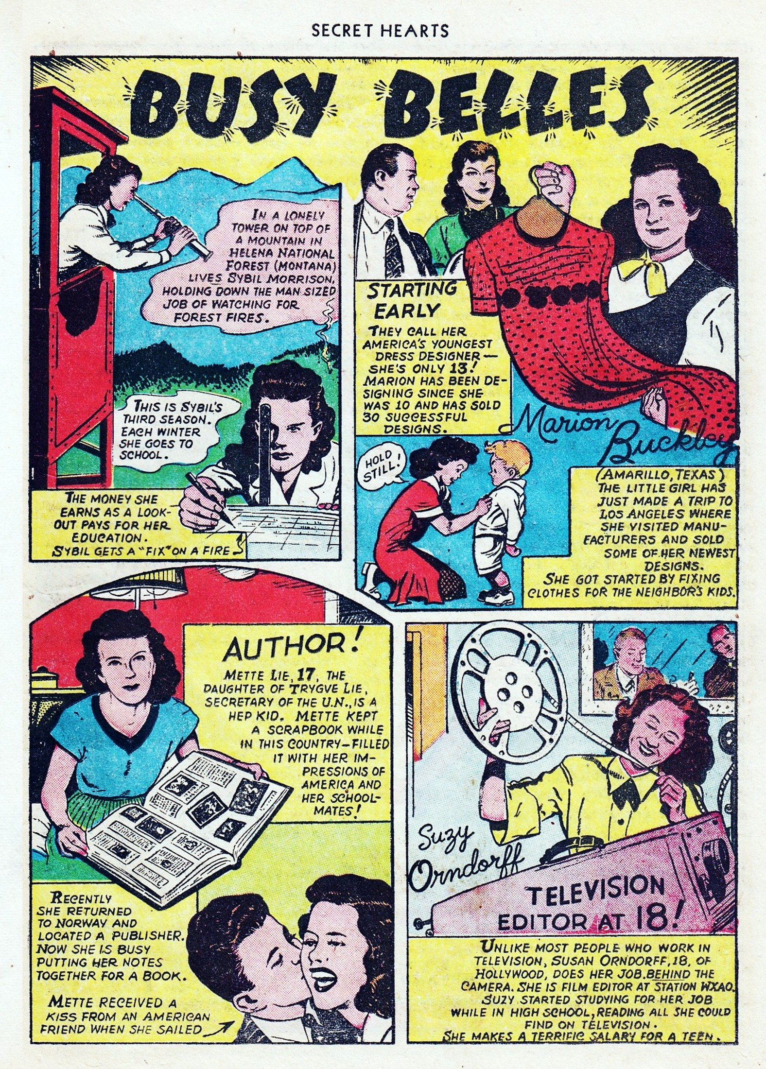 Read online Secret Hearts comic -  Issue #1 - 35