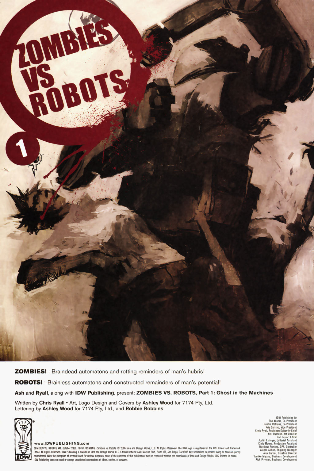 Zombies vs. Robots (2006) Issue #1 Page 3