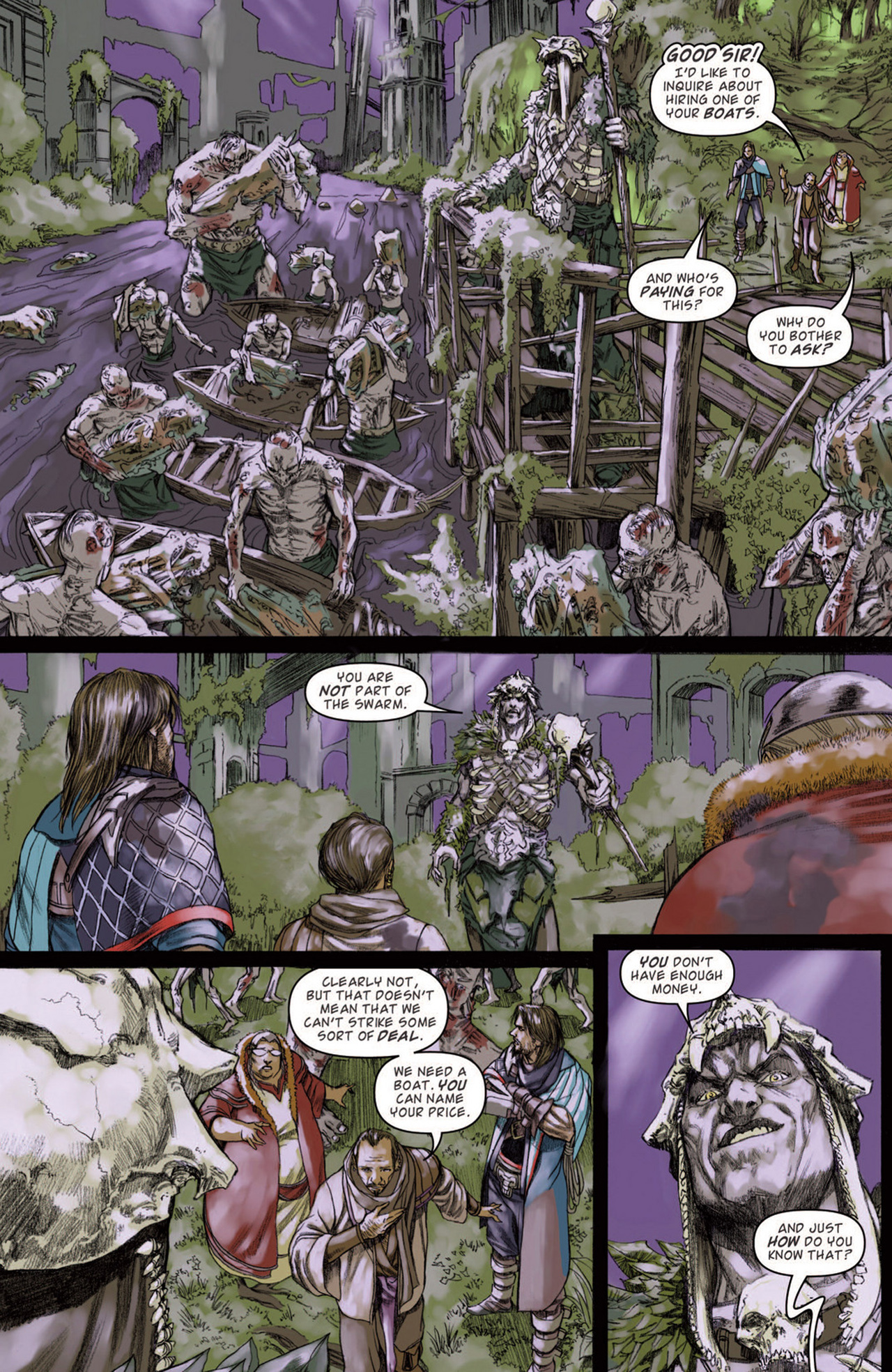Read online Magic: The Gathering--Path of Vengeance comic -  Issue #3 - 14