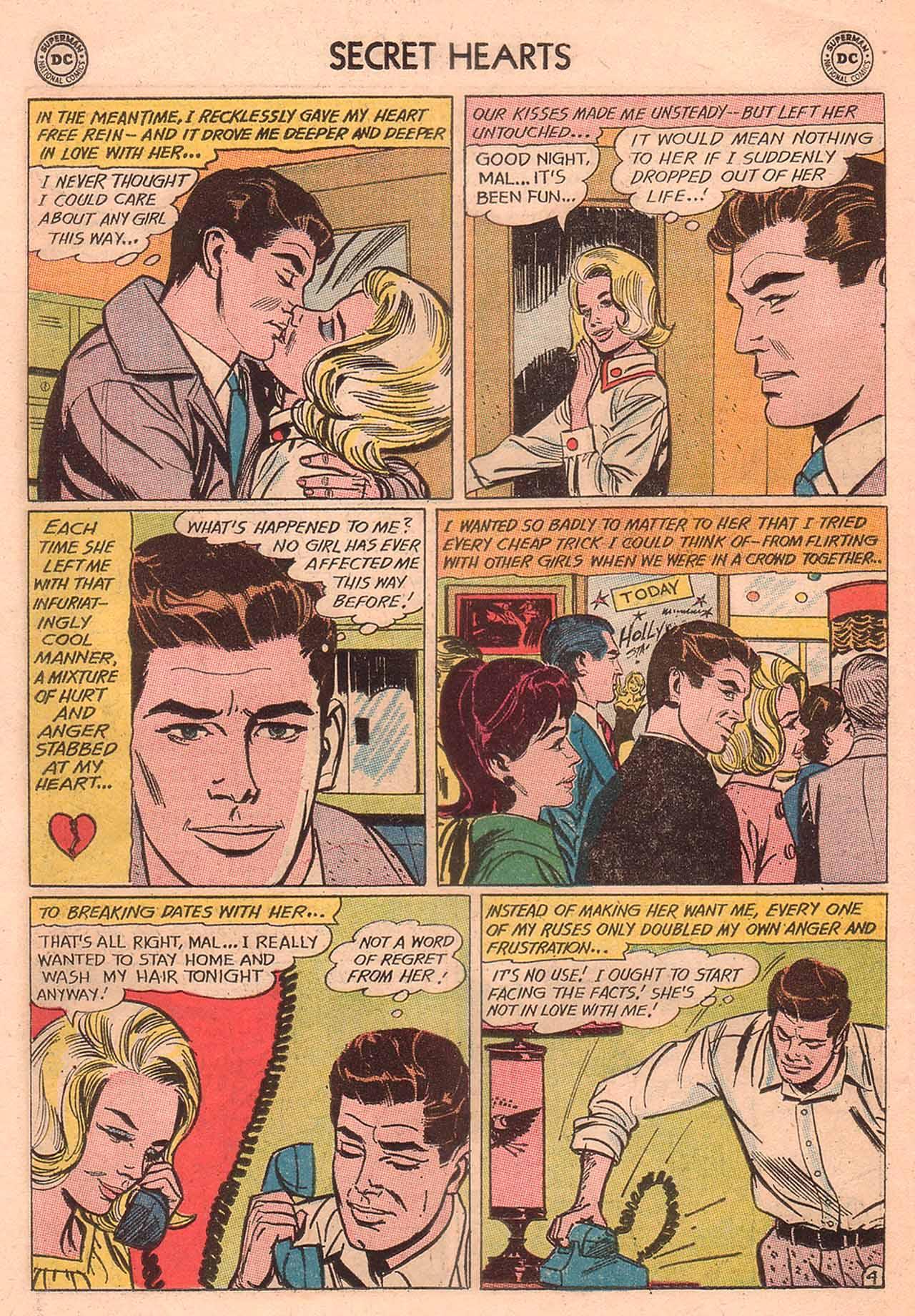 Read online Secret Hearts comic -  Issue #94 - 6