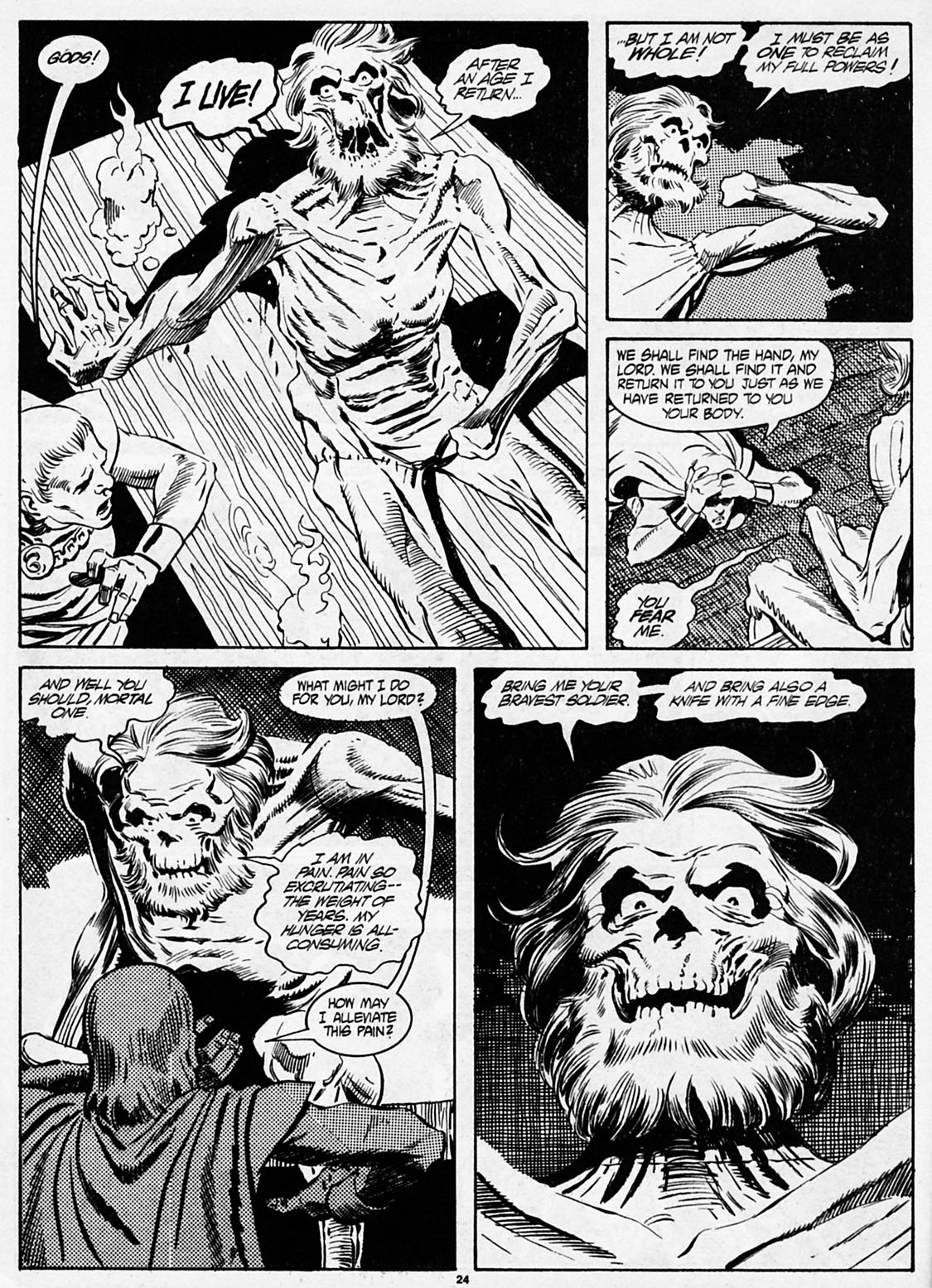 The Savage Sword Of Conan Issue #186 #187 - English 26