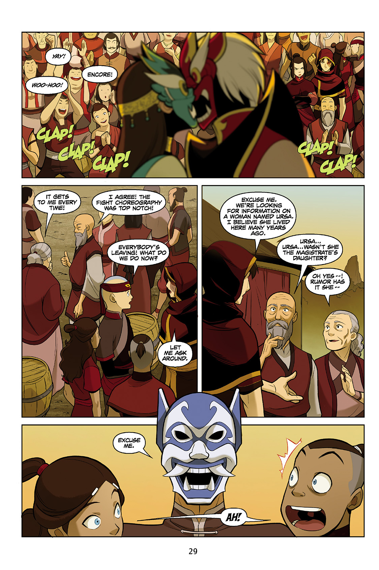 Read online Nickelodeon Avatar: The Last Airbender - The Search comic -  Issue # Part 2 - 30