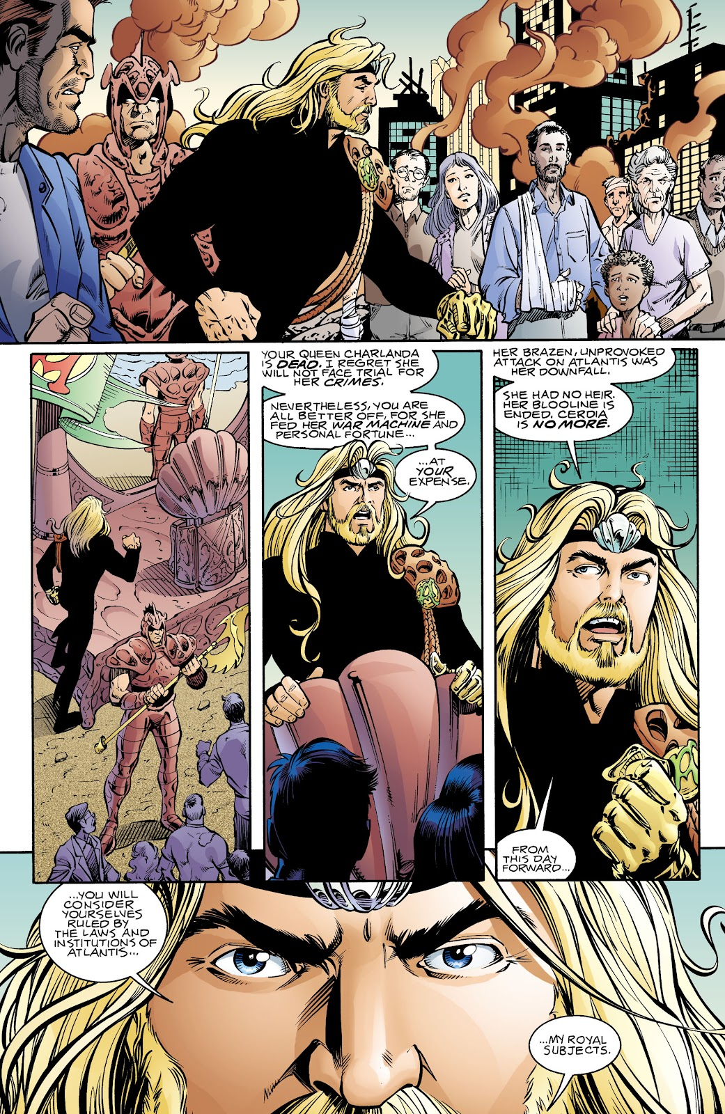 Aquaman (1994) Issue #70 #76 - English 4