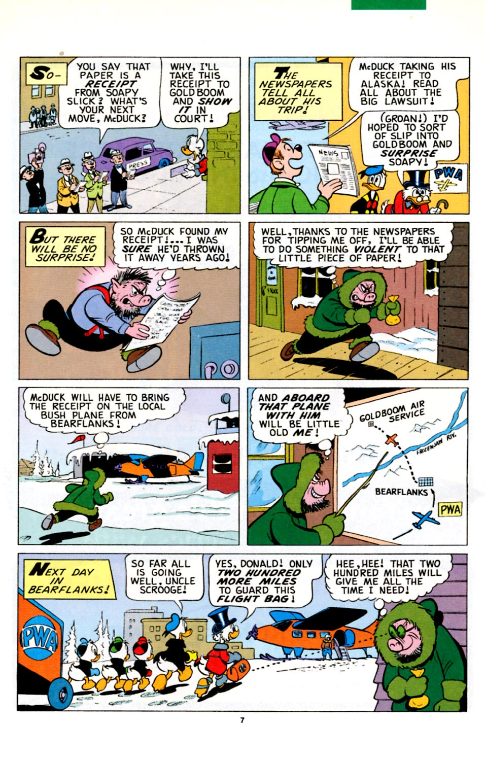 Uncle Scrooge (1953) Issue #278 #278 - English 8