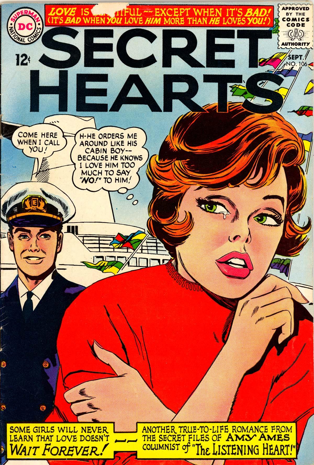Read online Secret Hearts comic -  Issue #106 - 1