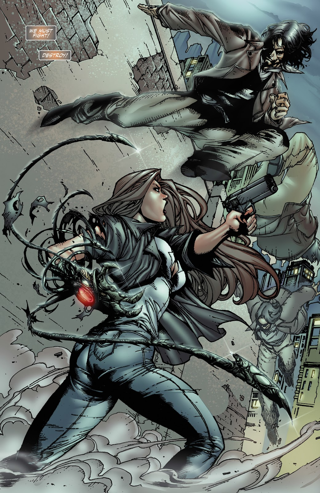 Read online Witchblade: Shades of Gray comic -  Issue #1 - 16