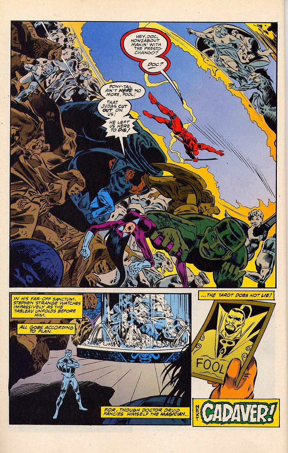 Read online Secret Defenders comic -  Issue #15 - 23