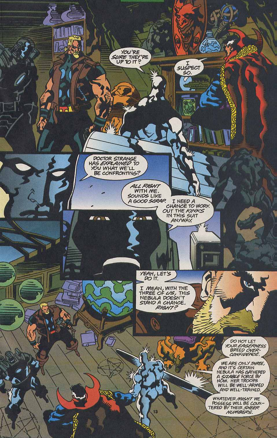 Read online Secret Defenders comic -  Issue #9 - 10
