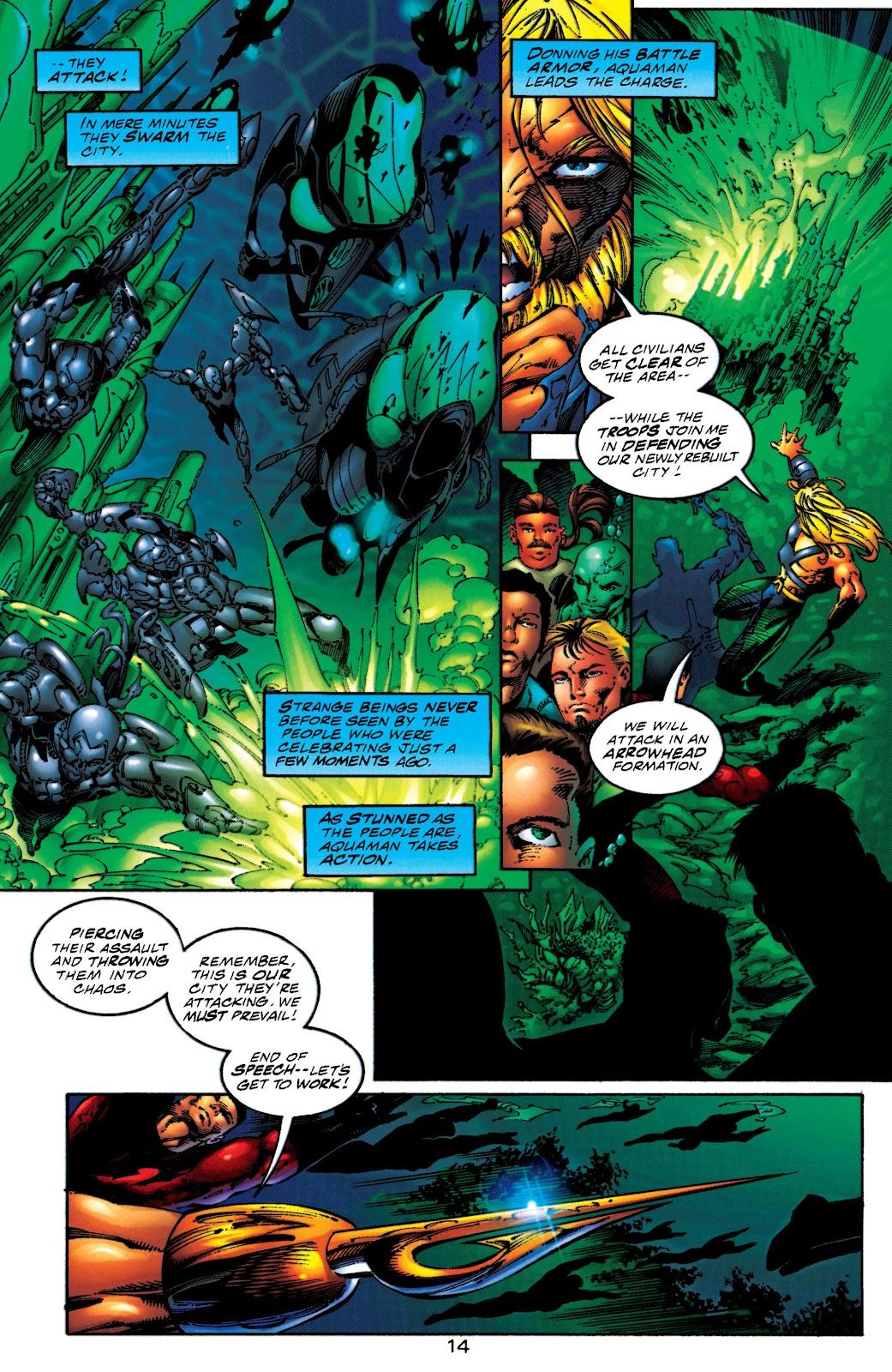 Aquaman (1994) Issue #50 #56 - English 13