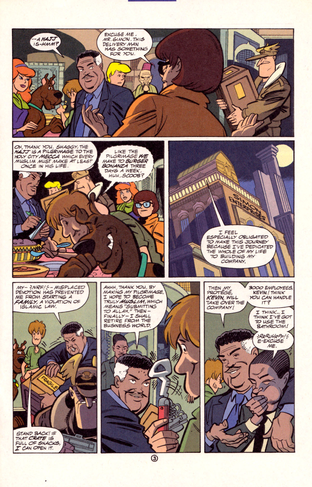 Read online Scooby-Doo (1997) comic -  Issue #11 - 4