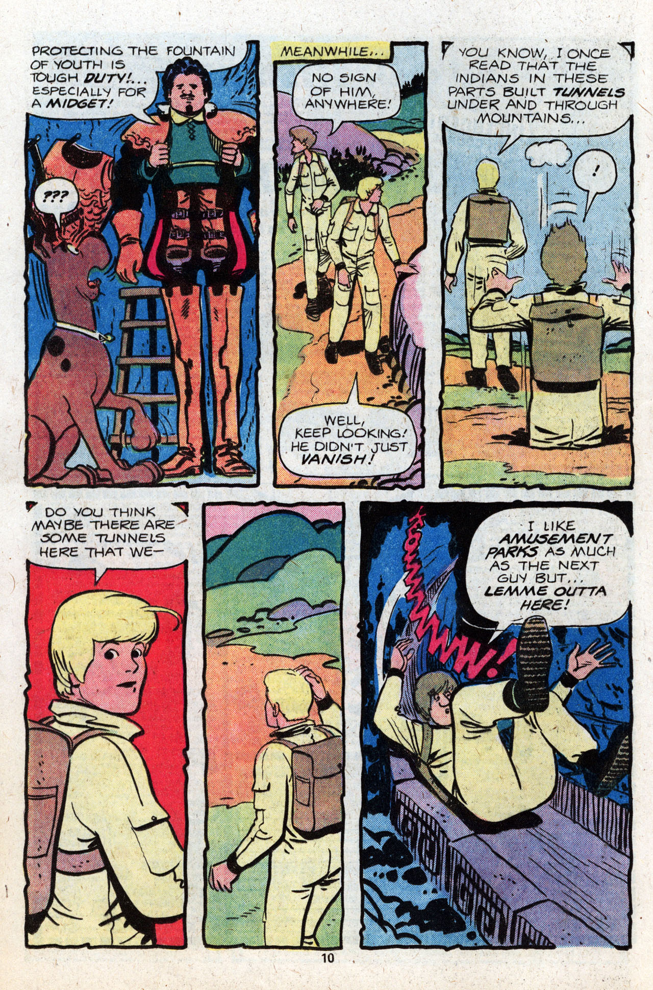 Read online Scooby-Doo (1977) comic -  Issue #8 - 12
