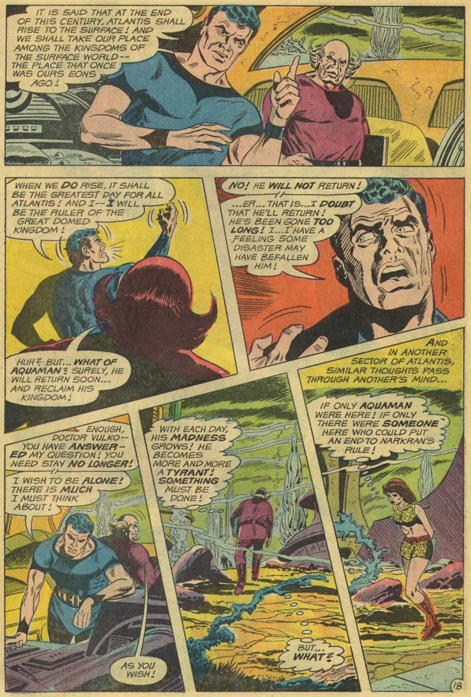 Aquaman (1962) Issue #46 #46 - English 23