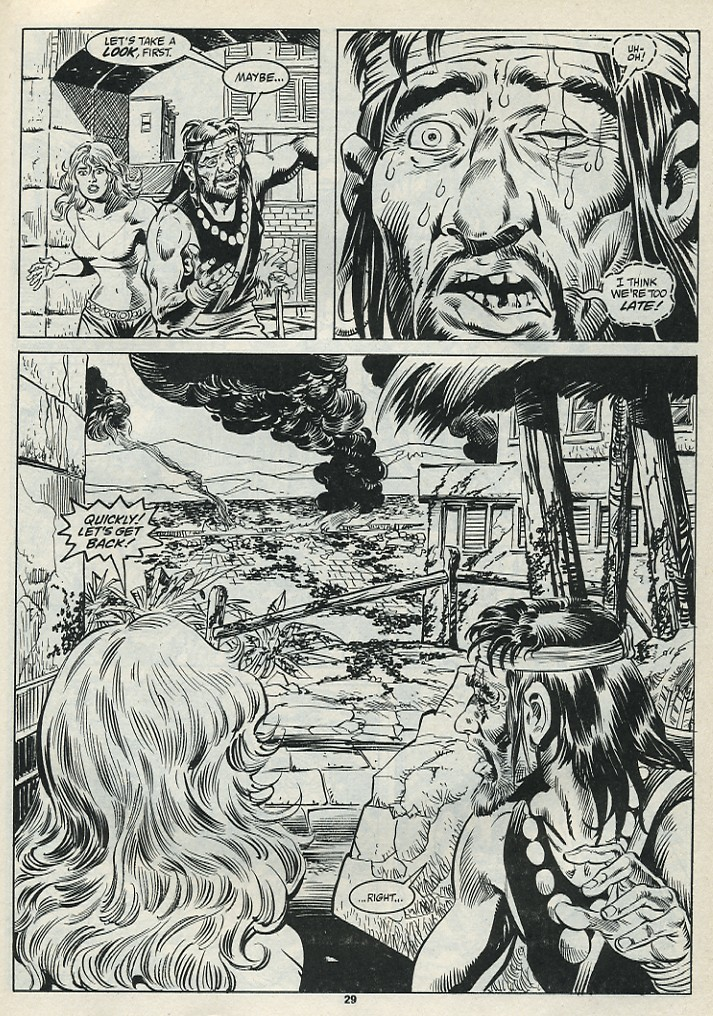 The Savage Sword Of Conan Issue #182 #183 - English 31