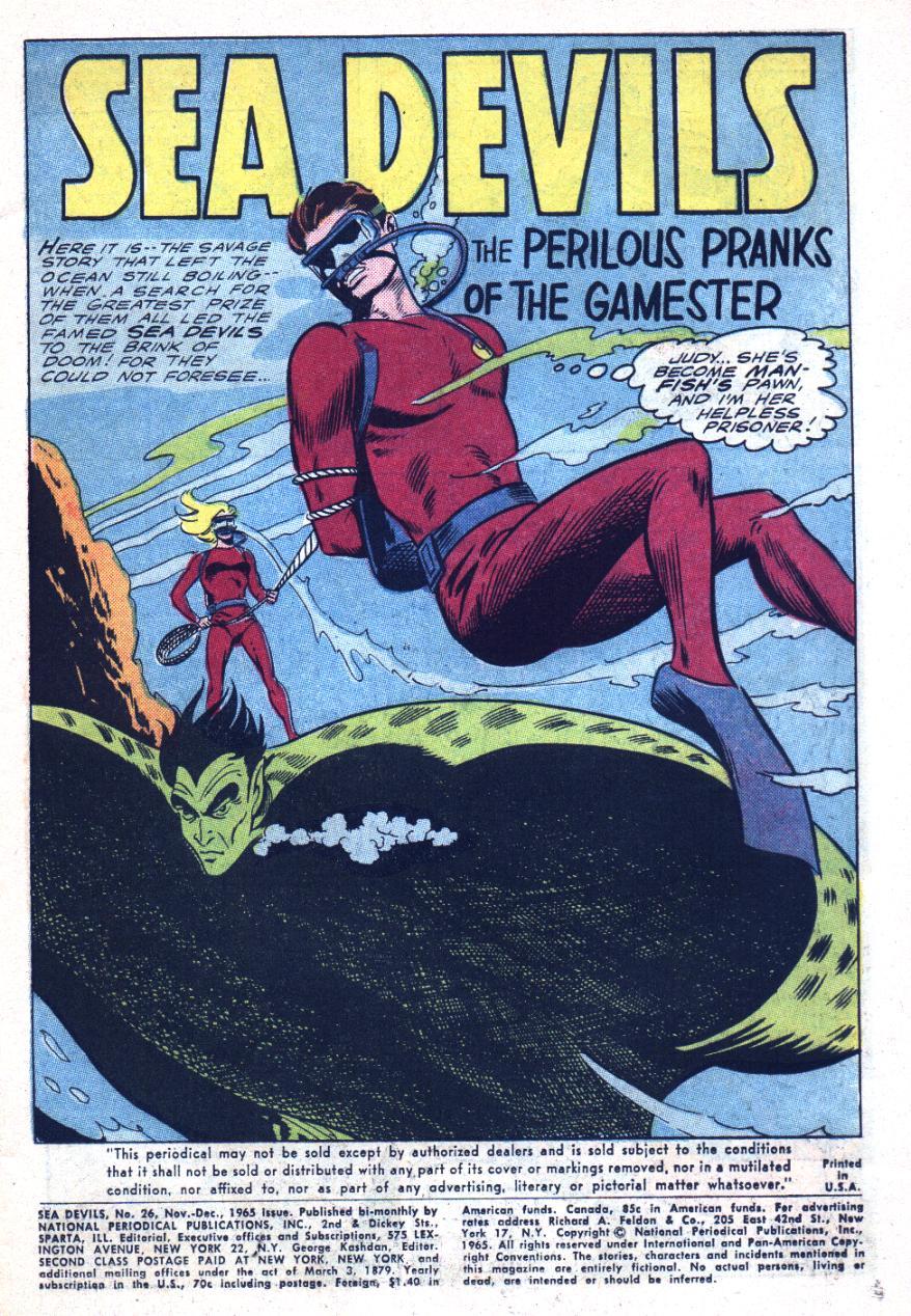 Read online Sea Devils comic -  Issue #26 - 4