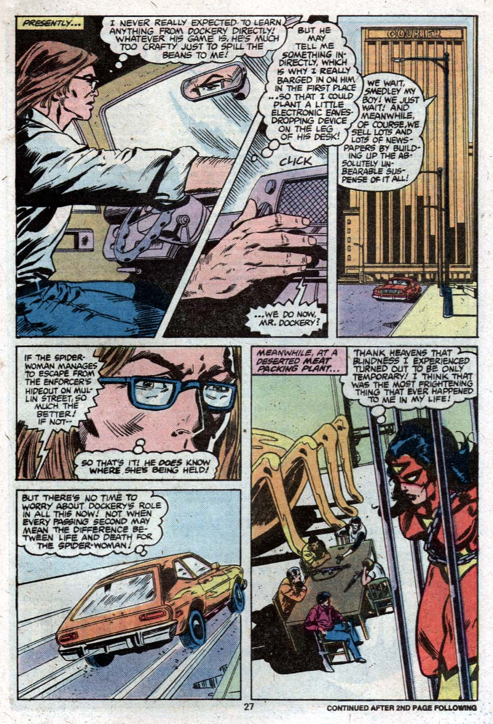 Spider-Woman (1978) Issue #27 #27 - English 17