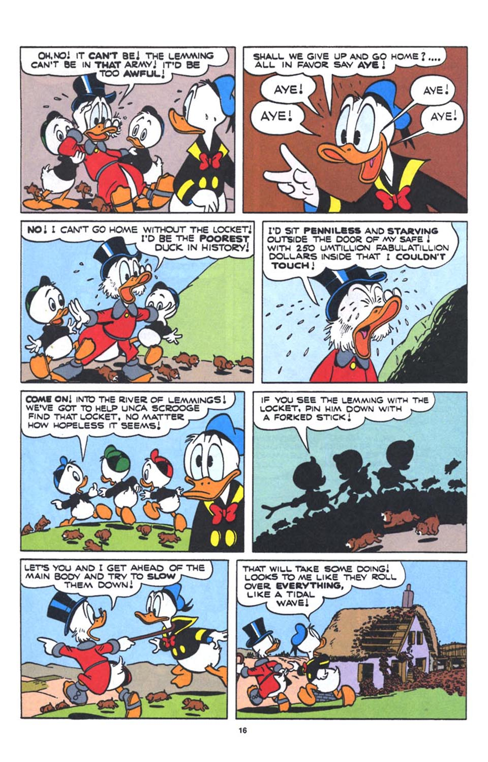 Uncle Scrooge (1953) Issue #250 #250 - English 18