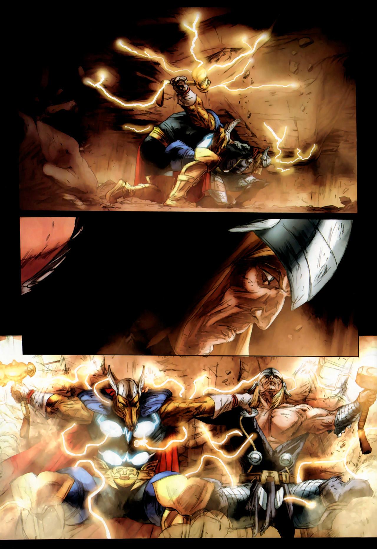 Read online Secret Invasion: Thor comic -  Issue #3 - 21