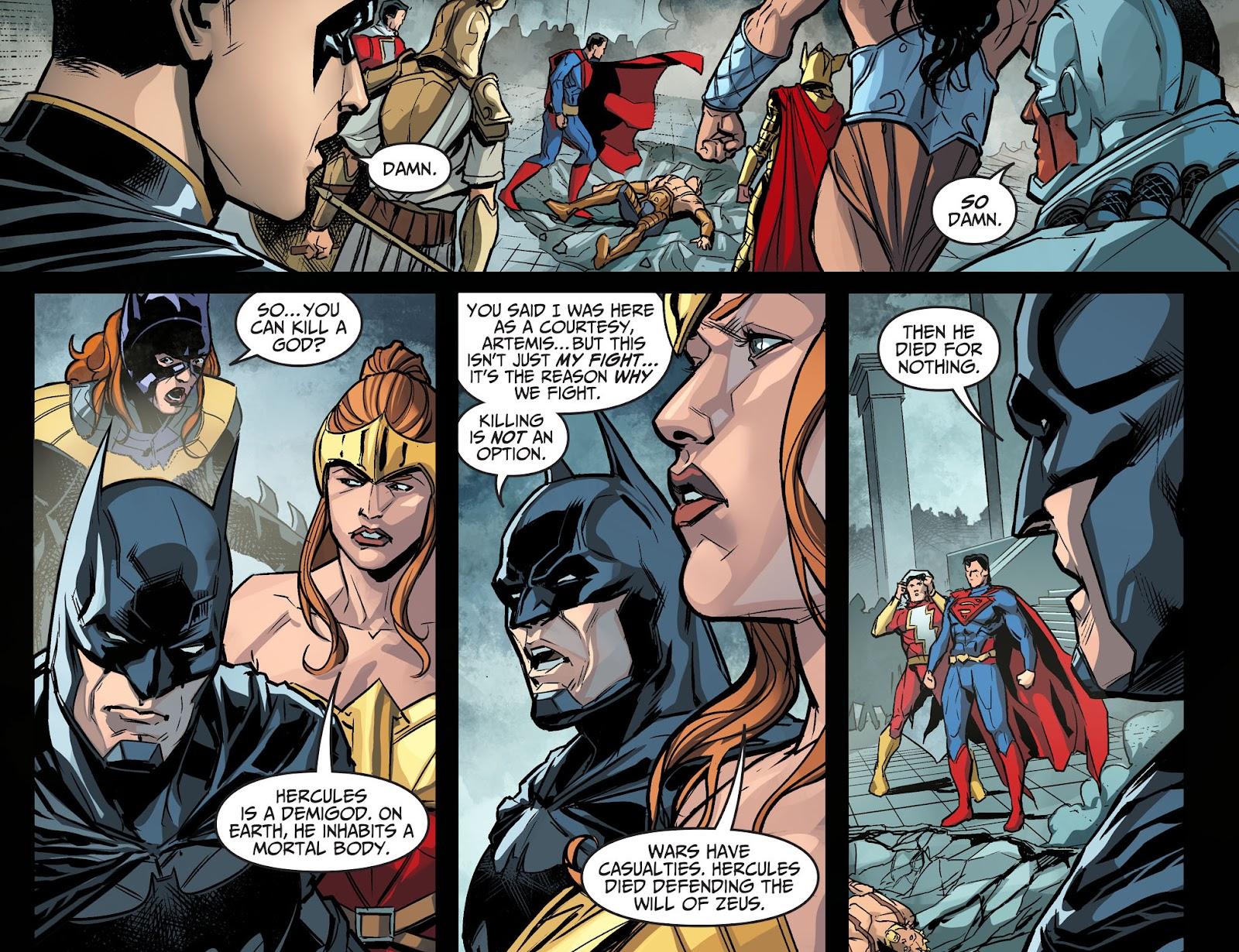 Injustice: Gods Among Us Year Four Issue #14 #15 - English 5