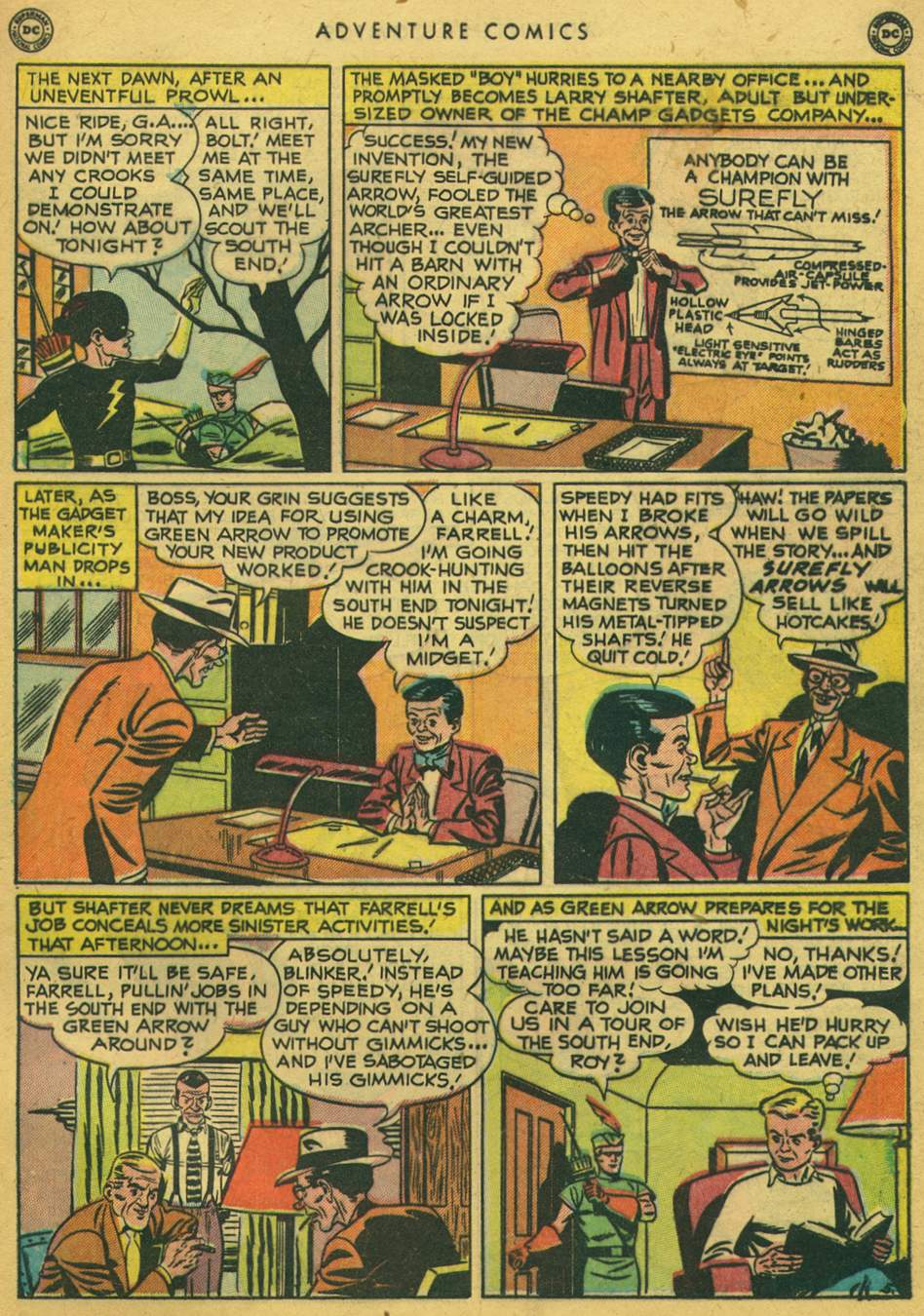 Read online Adventure Comics (1938) comic -  Issue #164 - 43