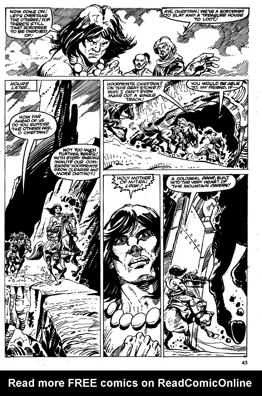 The Savage Sword Of Conan Issue #86 #87 - English 43