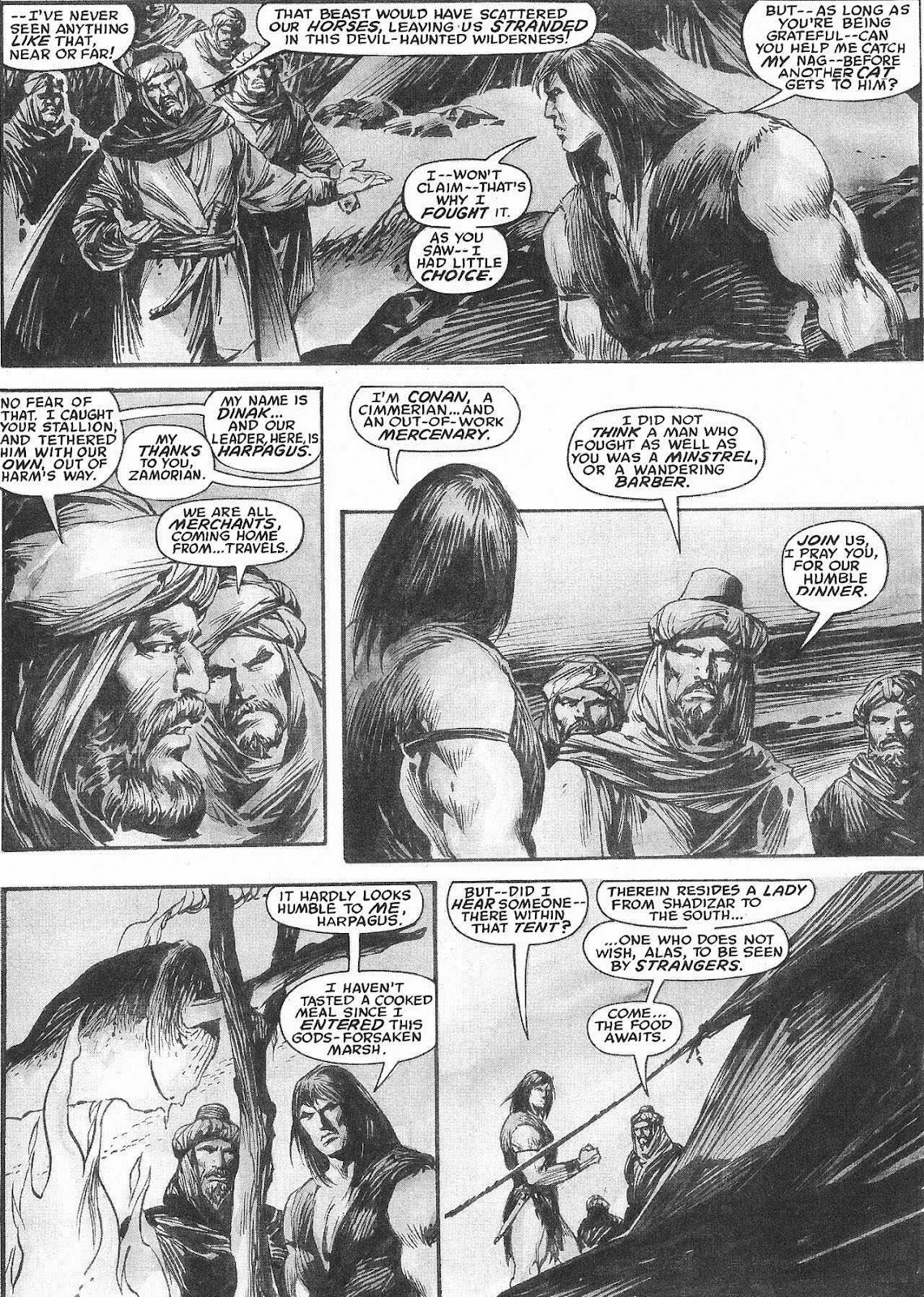 The Savage Sword Of Conan Issue #207 #208 - English 16