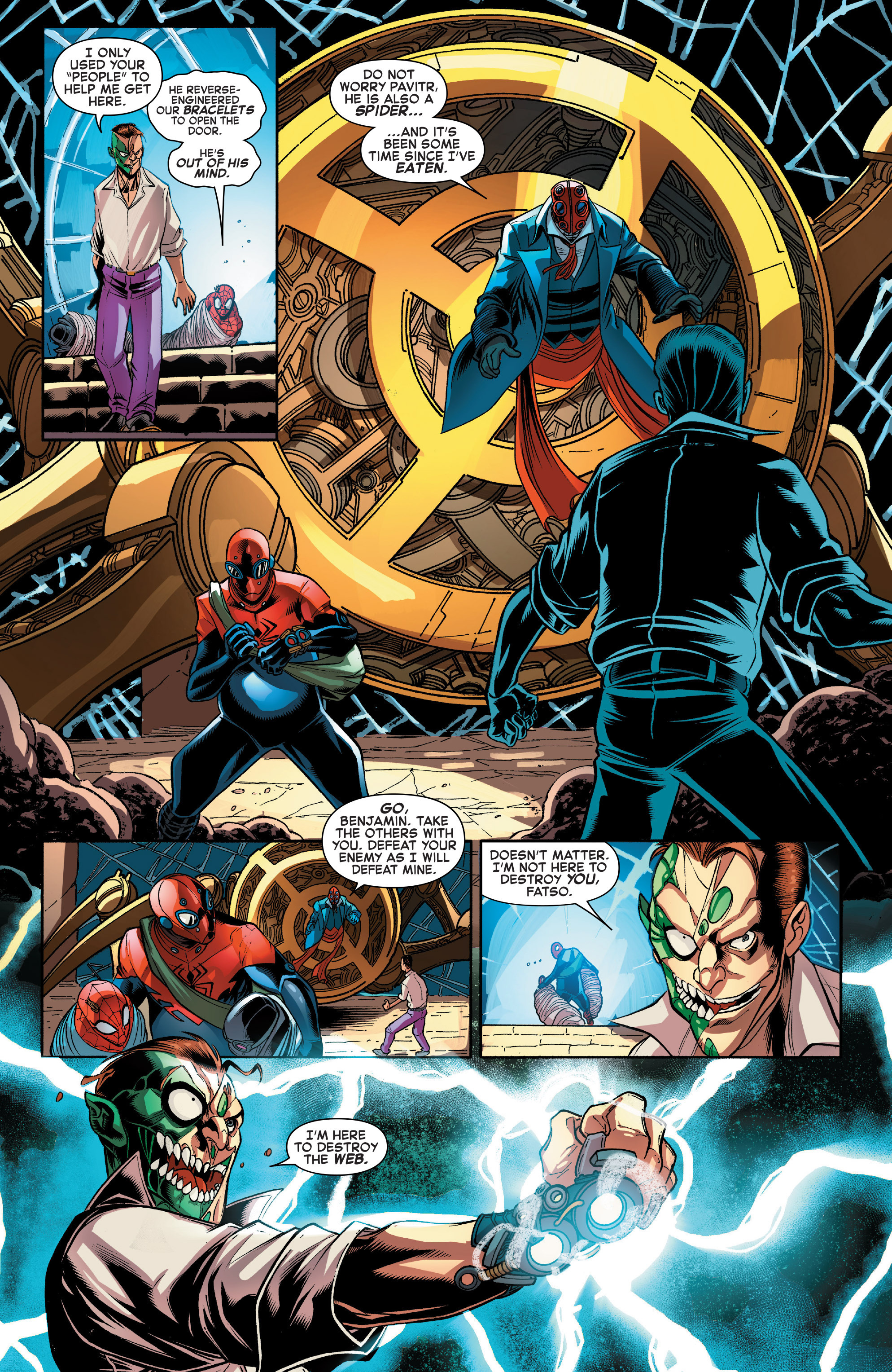 Read online Web Warriors comic -  Issue #11 - 7