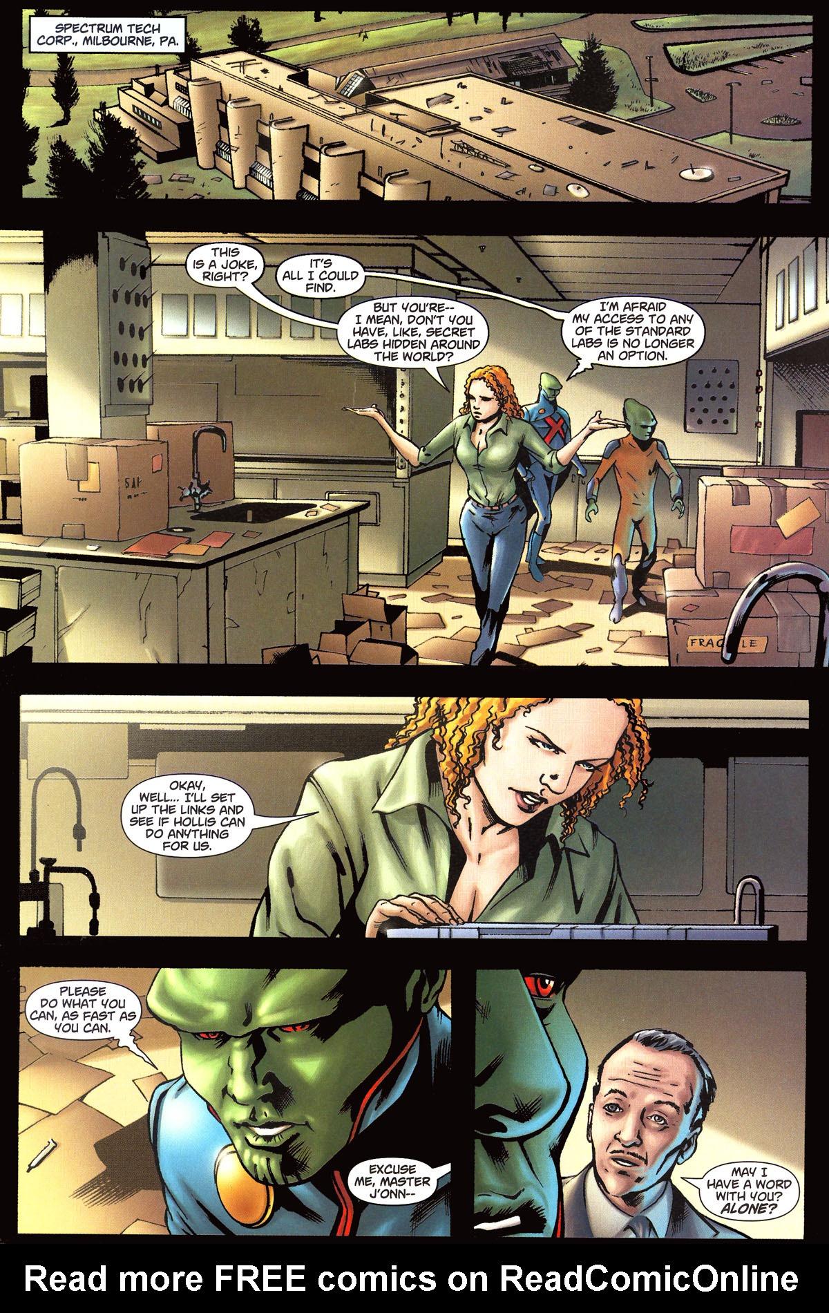 Read online Martian Manhunter (2006) comic -  Issue #6 - 13