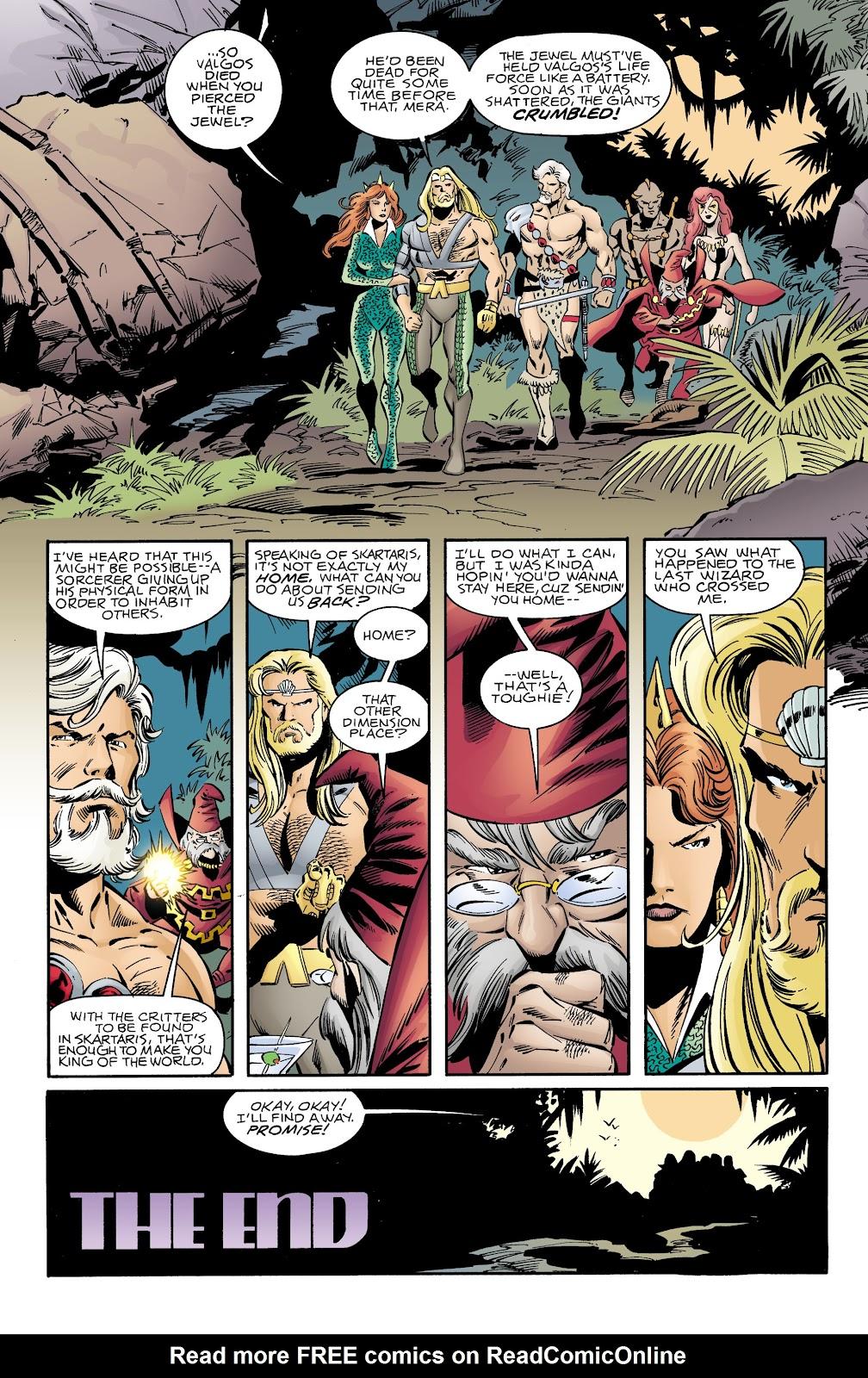 Aquaman (1994) Issue #73 #79 - English 22