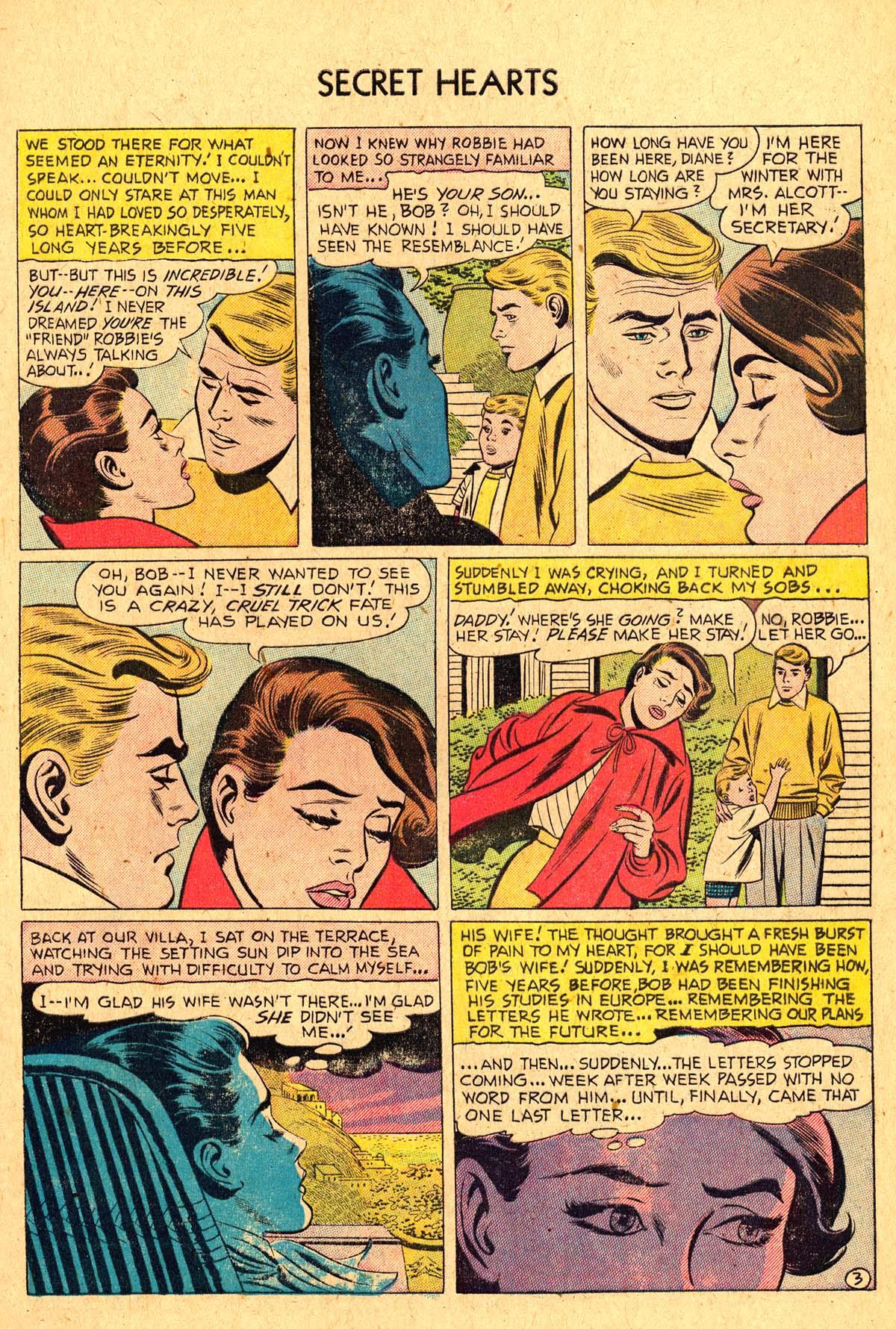 Read online Secret Hearts comic -  Issue #36 - 5