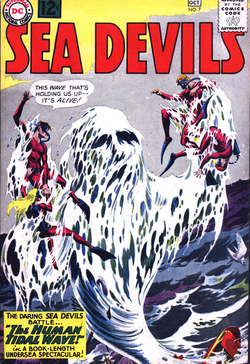 Read online Sea Devils comic -  Issue #7 - 2