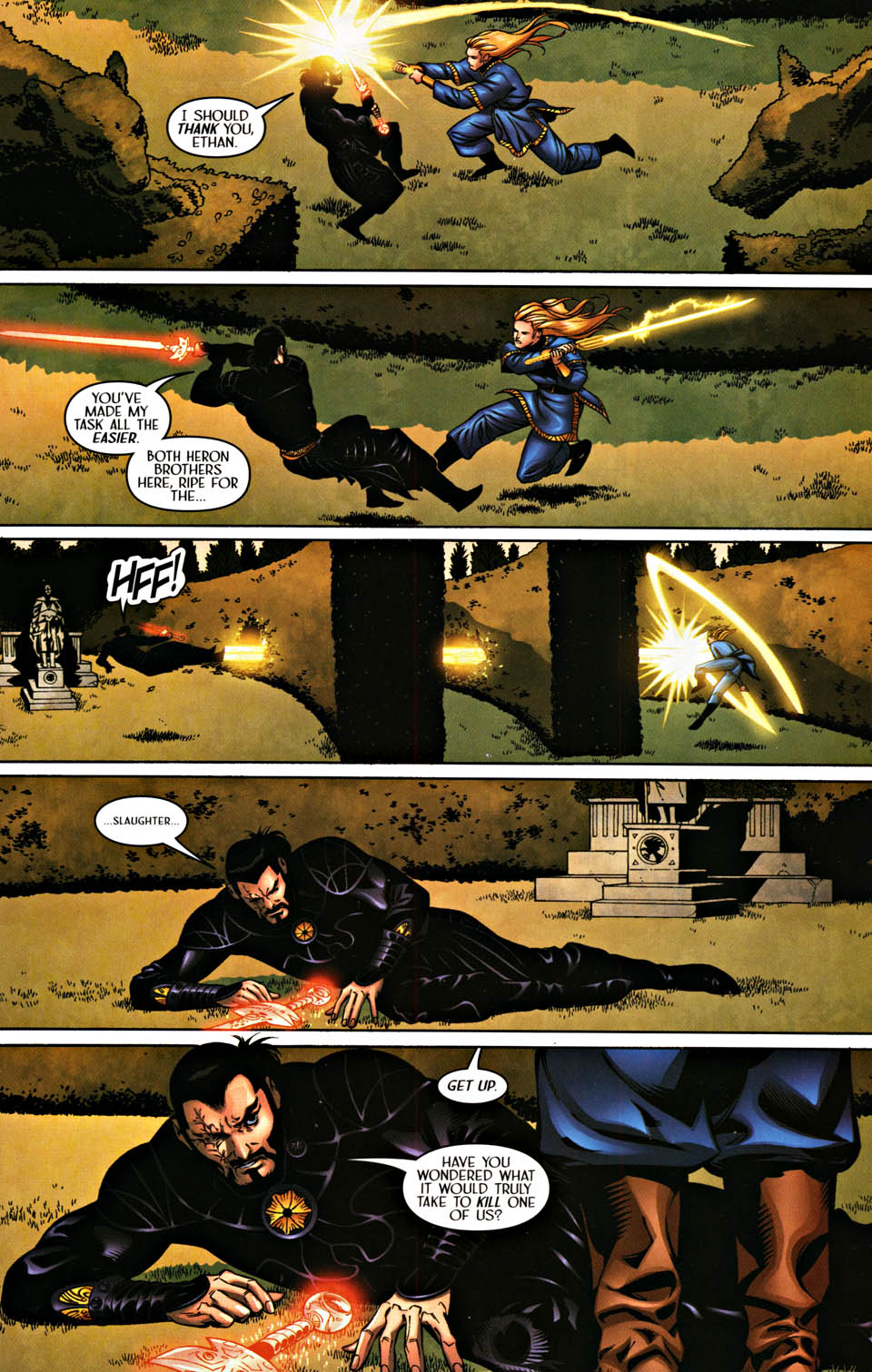 Read online Scion comic -  Issue #37 - 19