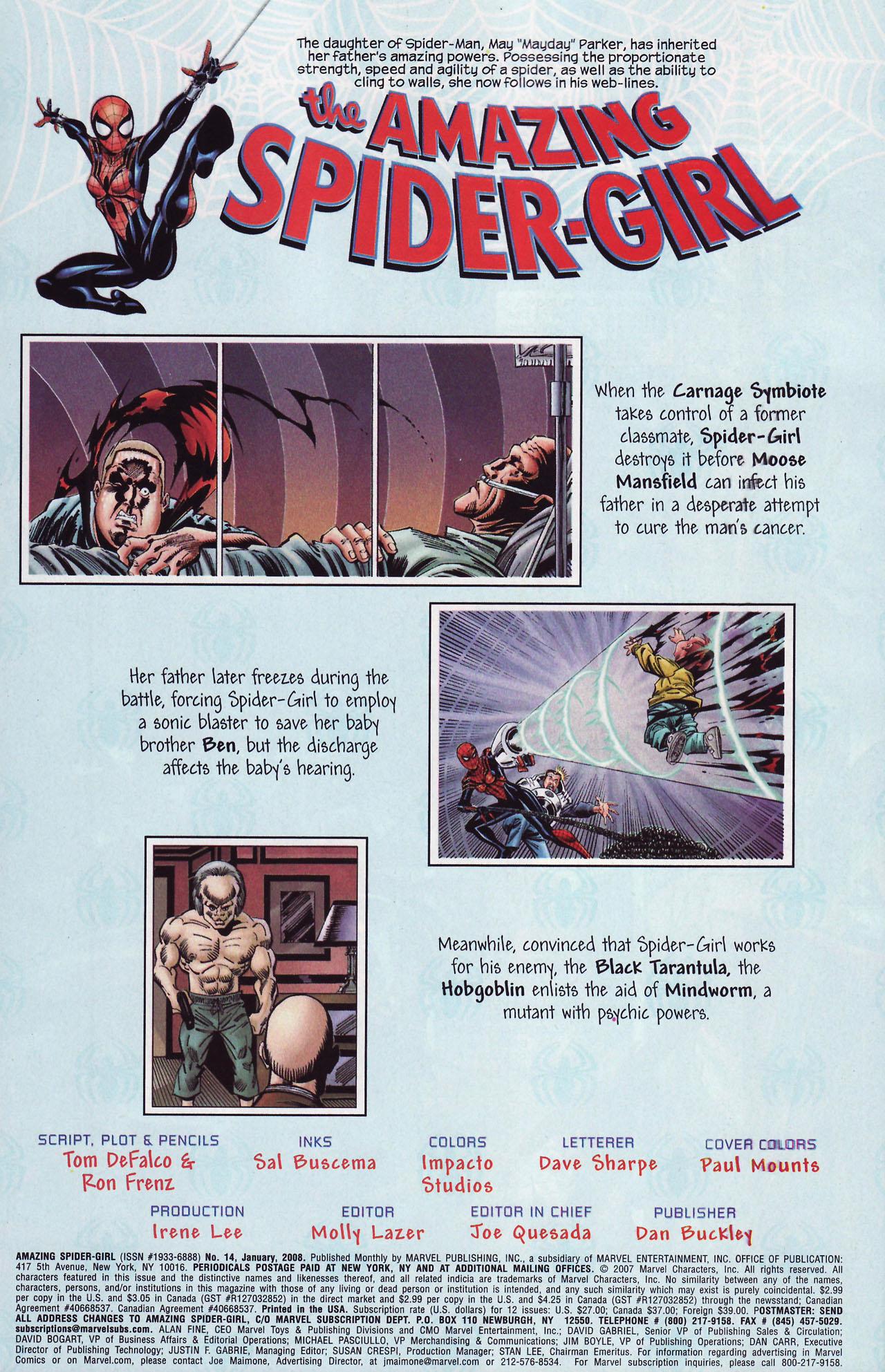 Amazing Spider-Girl #14 #17 - English 2