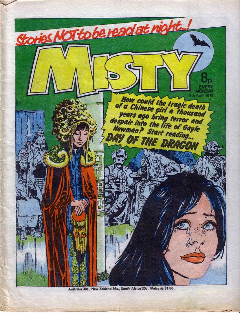 Misty 10 Page 1