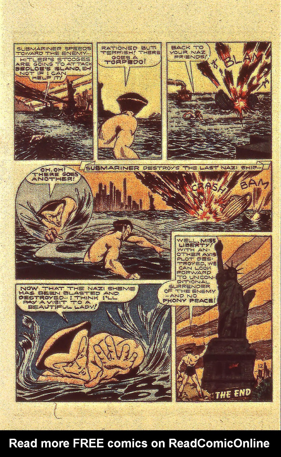 Sub-Mariner Comics Issue #13 #13 - English 40