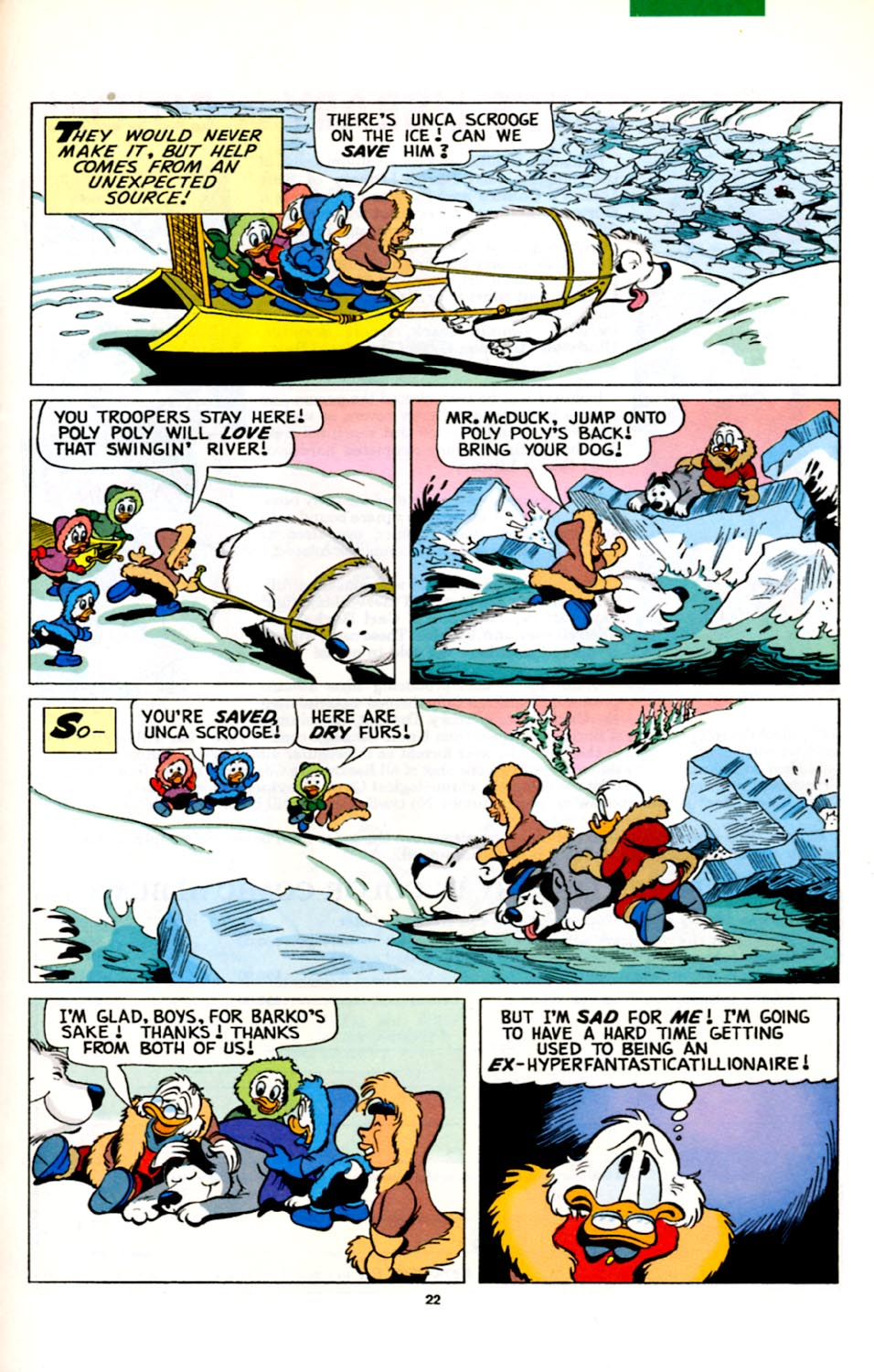 Uncle Scrooge (1953) Issue #278 #278 - English 23