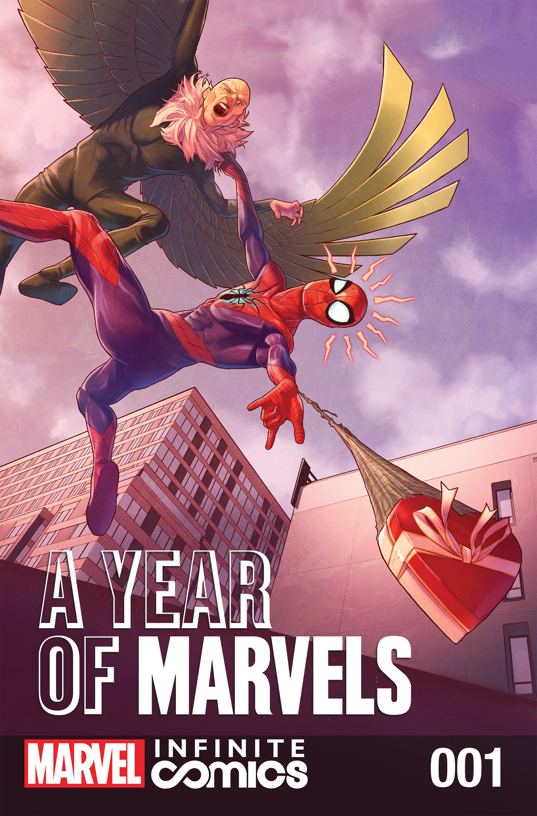 A Year Of Marvels: February Infinite Comic Full Page 1