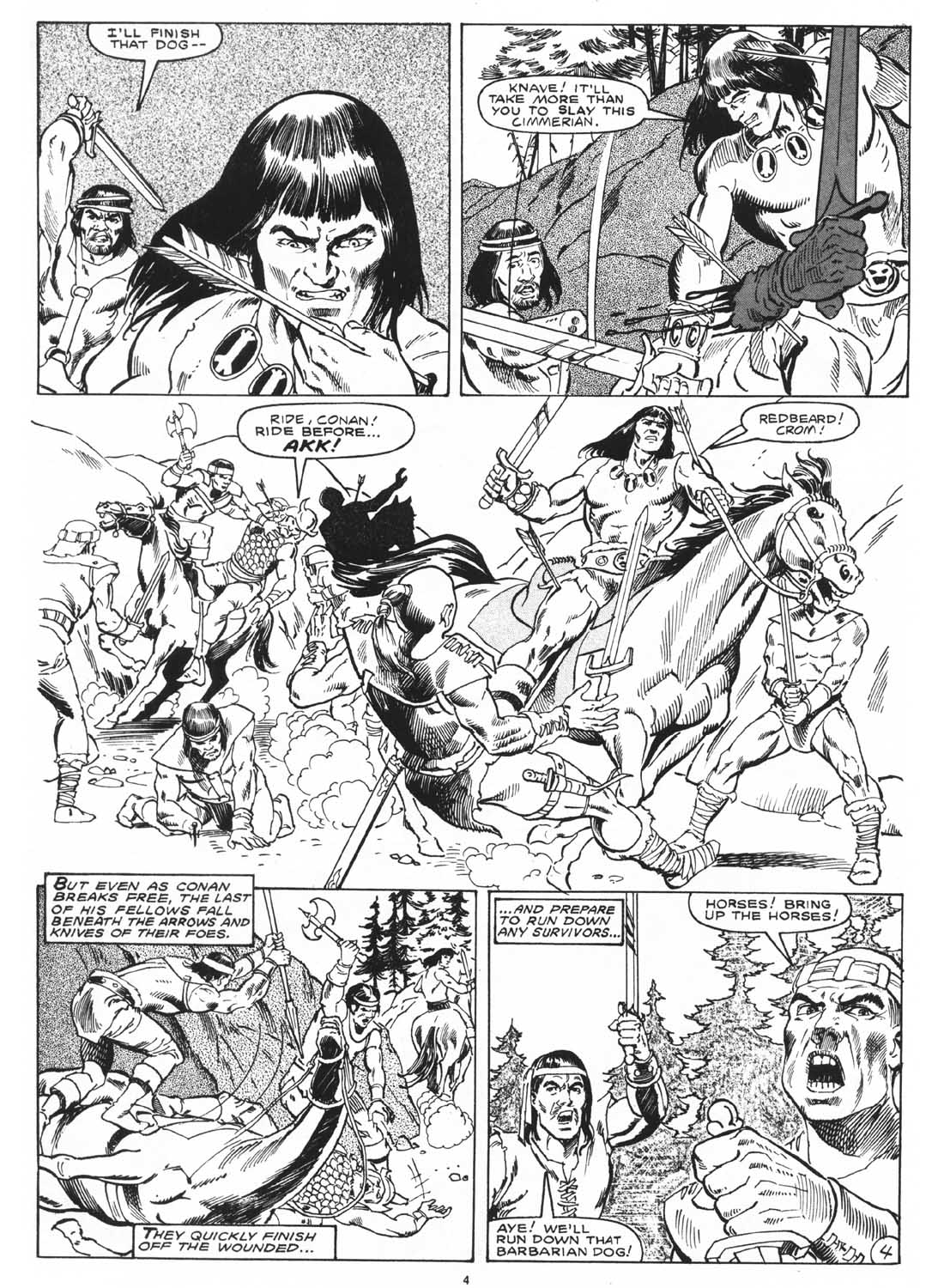 The Savage Sword Of Conan Issue #171 #172 - English 6