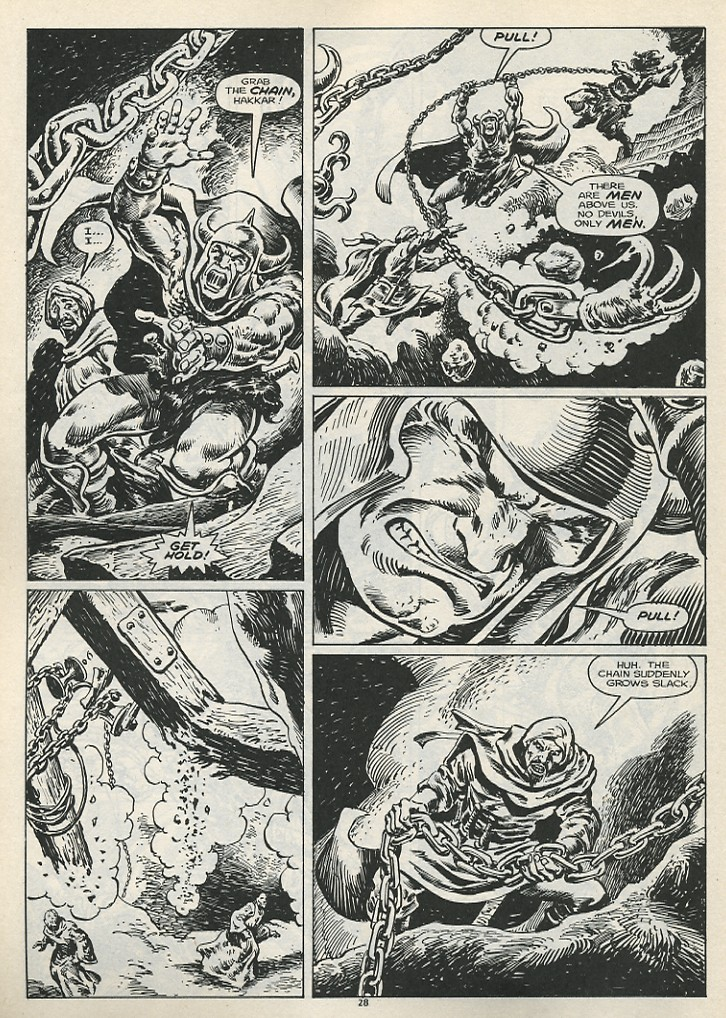 The Savage Sword Of Conan Issue #178 #179 - English 30
