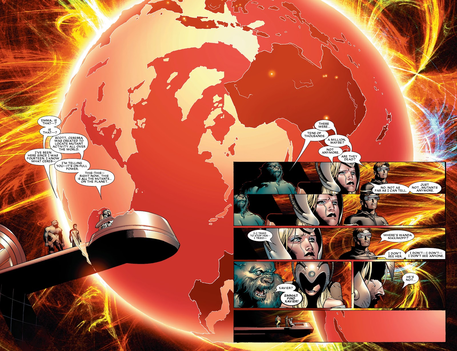 House of M (2005) Issue #8 #8 - English 13