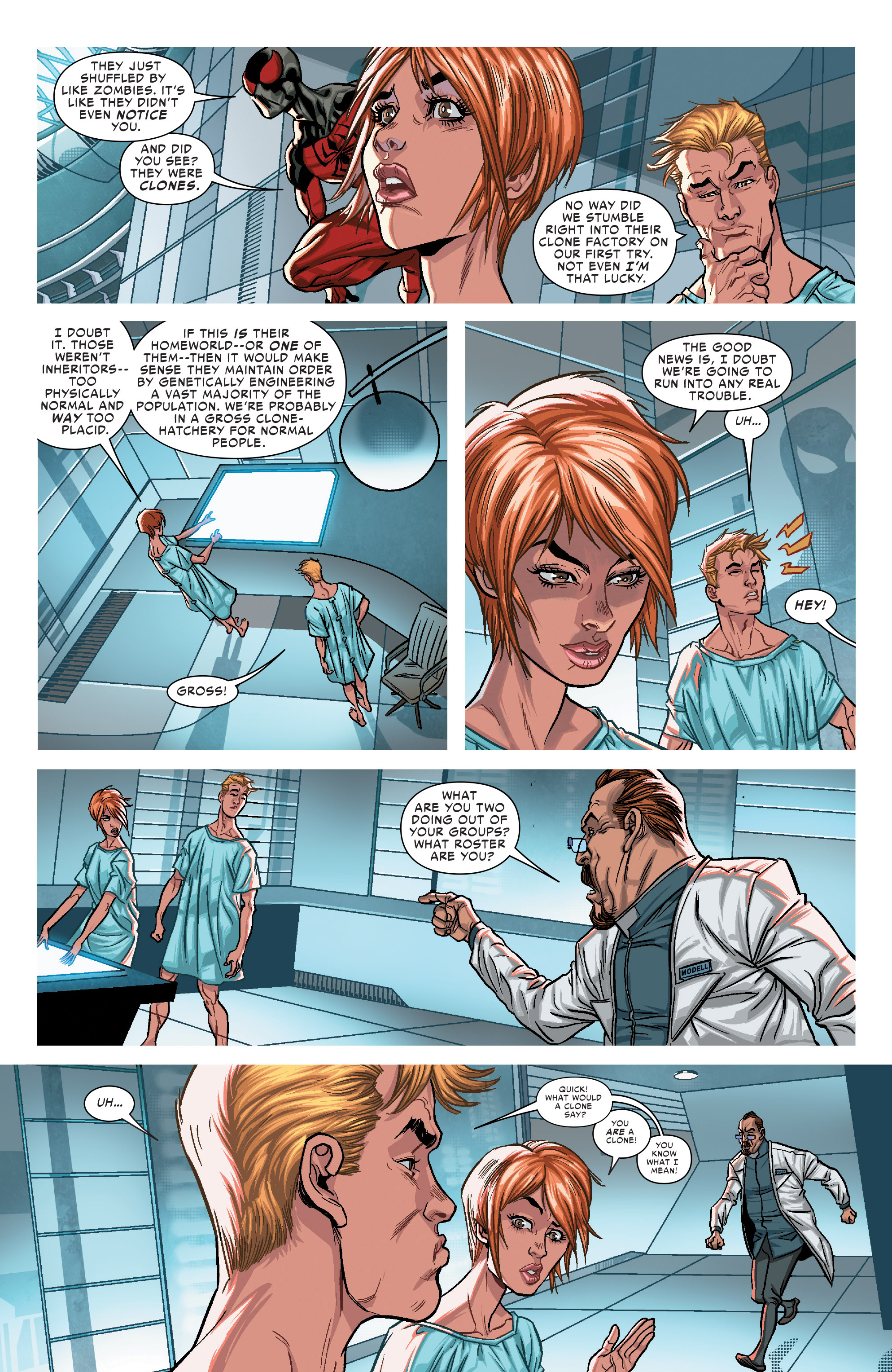 Read online Scarlet Spiders comic -  Issue #1 - 7
