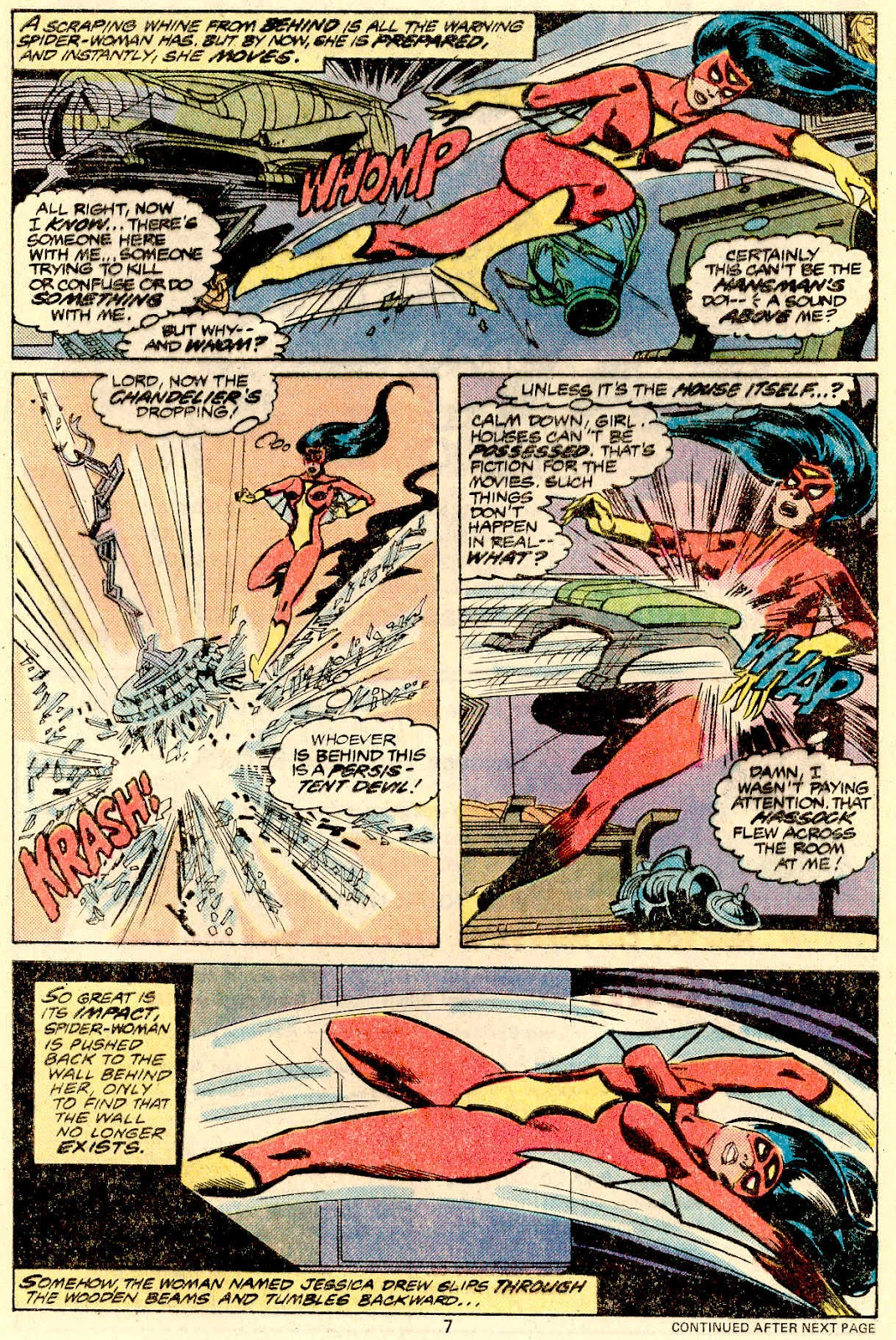 Spider-Woman (1978) Issue #5 #5 - English 7