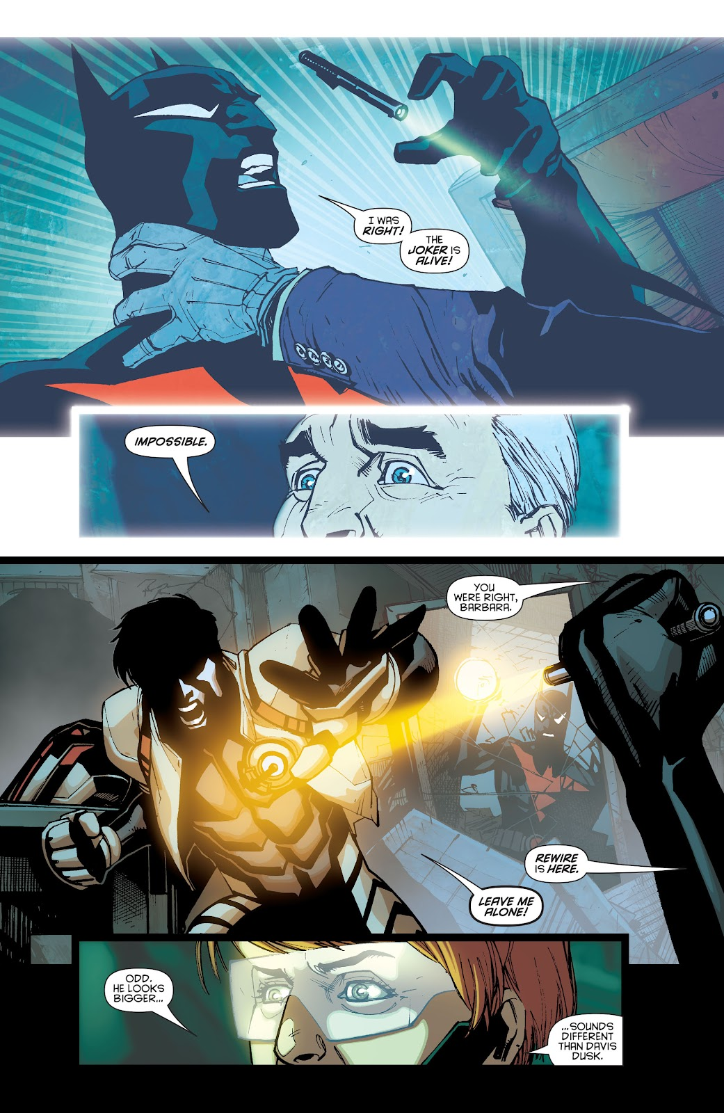 Batman Beyond (2015) Issue #13 #13 - English 13