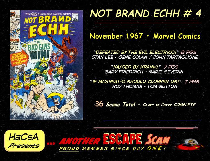 Not Brand Echh #4 #11 - English 36