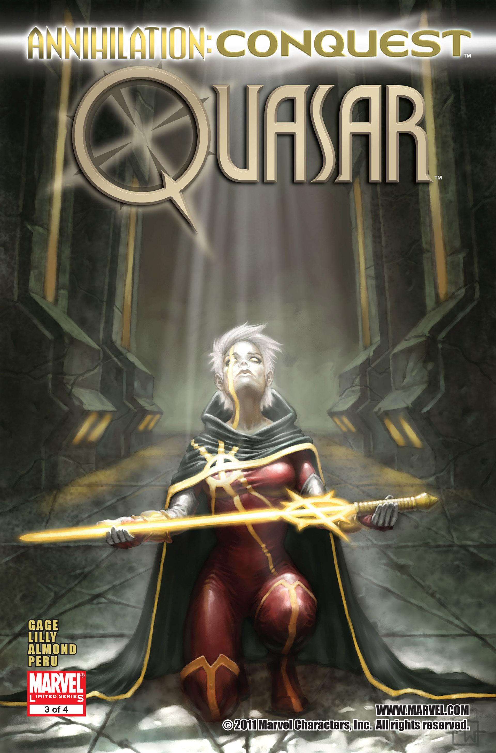 Annihilation: Conquest - Quasar 3 Page 1